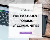Pre-PA Student Forums