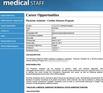 Physician Assistant Jobs