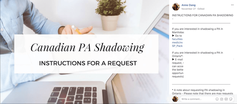How to shadow a Physician Assistant in Canada - Canadian PA