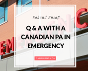 Canadian Physician Assistant in Emergency Medicine
