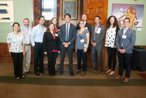 Ontario Physician Assistants including myself, my supervising physician Dr. Benjamin Smith, Deniece O'Leary Ontario PA Chapter President, Sahand Ensafi incoming Ontario PA VP, and Patrick Nelson, executive director of CAPA posing with Dr. Eric Hoskins at PA Awareness Reception on Sept 13, 2017.