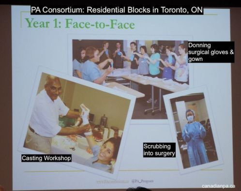 Residential Block Physician Assistant PA Consortium University of Toronto