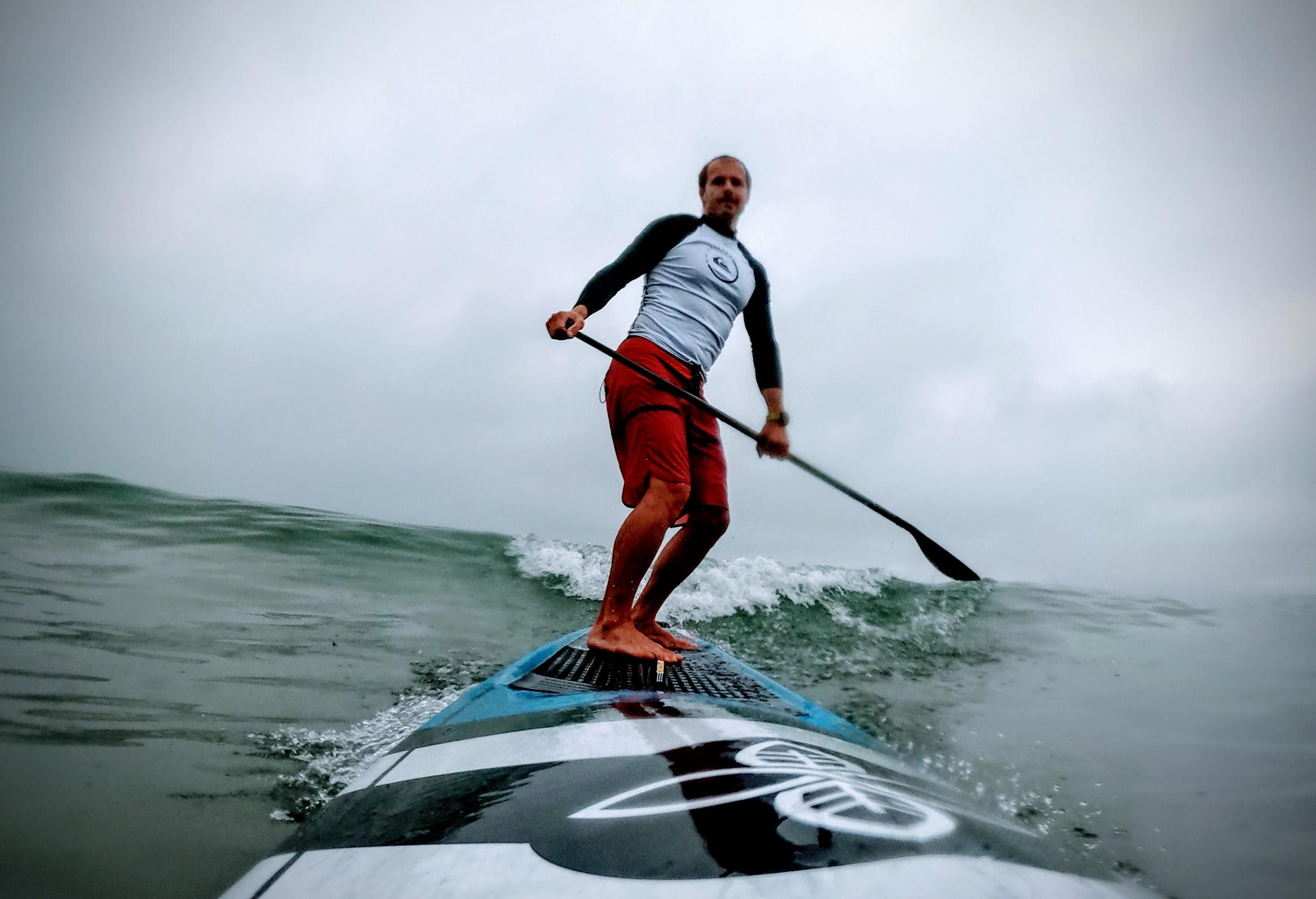 Paddle Battle at Dawn
