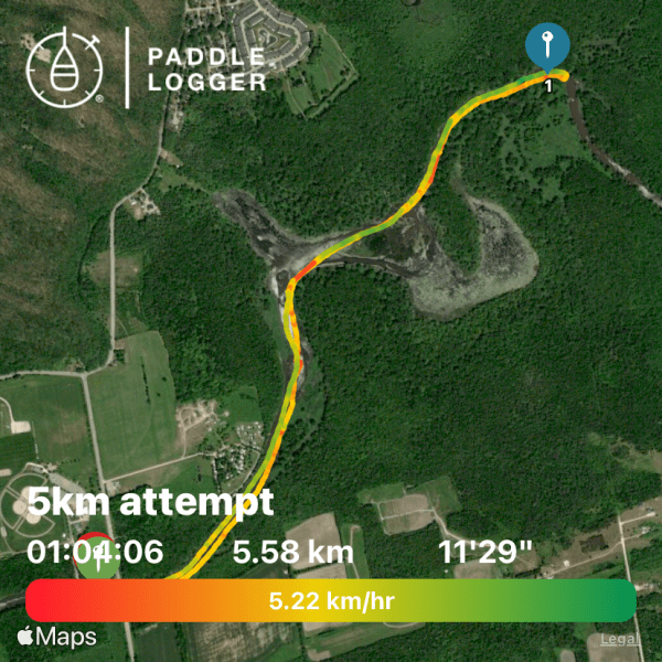 5km attempt
