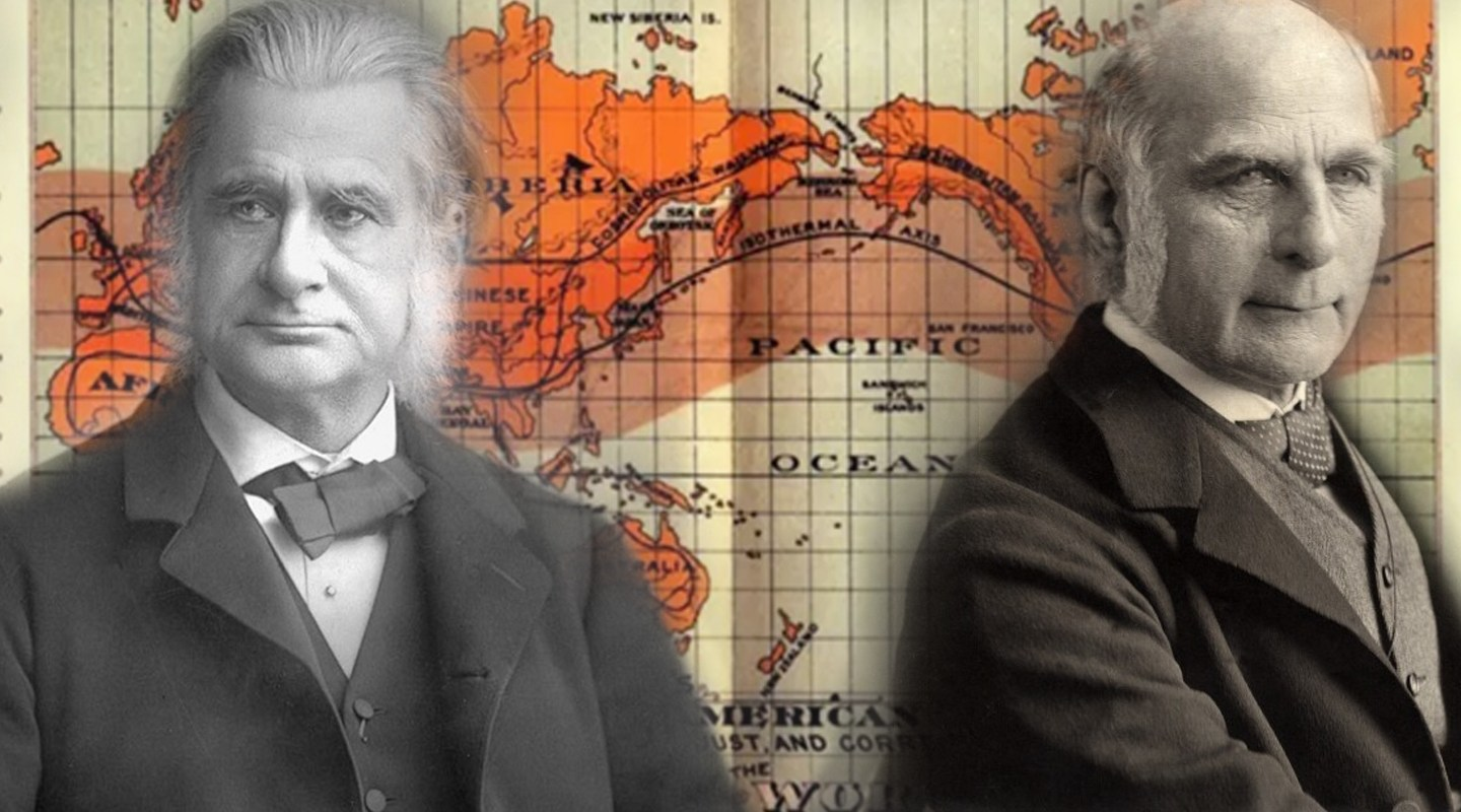 THE GREAT RESET: 'Eugenics', The Fourth Industrial Revolution & The Clash of Two Systems Huxley-Galton-Gilpin-map-Feature