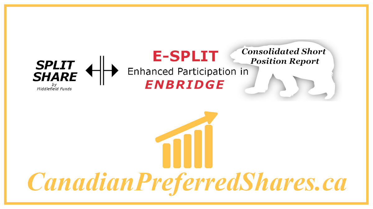 E Split Corp Preferreds Consolidated Short Position Report https://canadianpreferredshares.ca/rank-e-split-corp-preferreds/e-split-corp-preferreds-consolidated-short-position-report