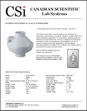 Alsident 50 60 75 System Blower - 168 cfm