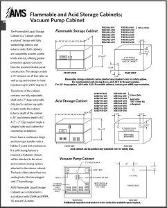 AMS® Storage Cabinets