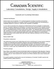CS care sheet