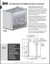 Catalog pages 700 Series Perchloric Acid