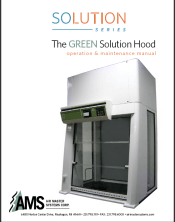 AMS manual - Green Solution Hood