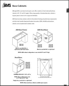 AMS Base Cabinets