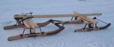Horse Drawn Sleighs Sleighs We have 2 standard sizes of these