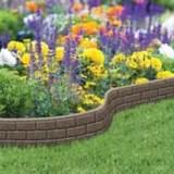bordure de jardin ultra flexi pierre 6 po x 4 pi