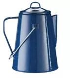 woods founder enamel coffee percolator 9 cup