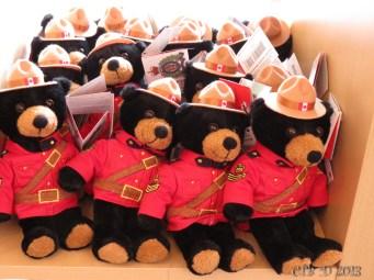 Royal Mounted Police Bears