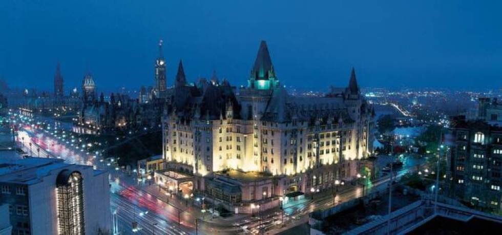 The Fairmont Chateau Laurier in Ottawa