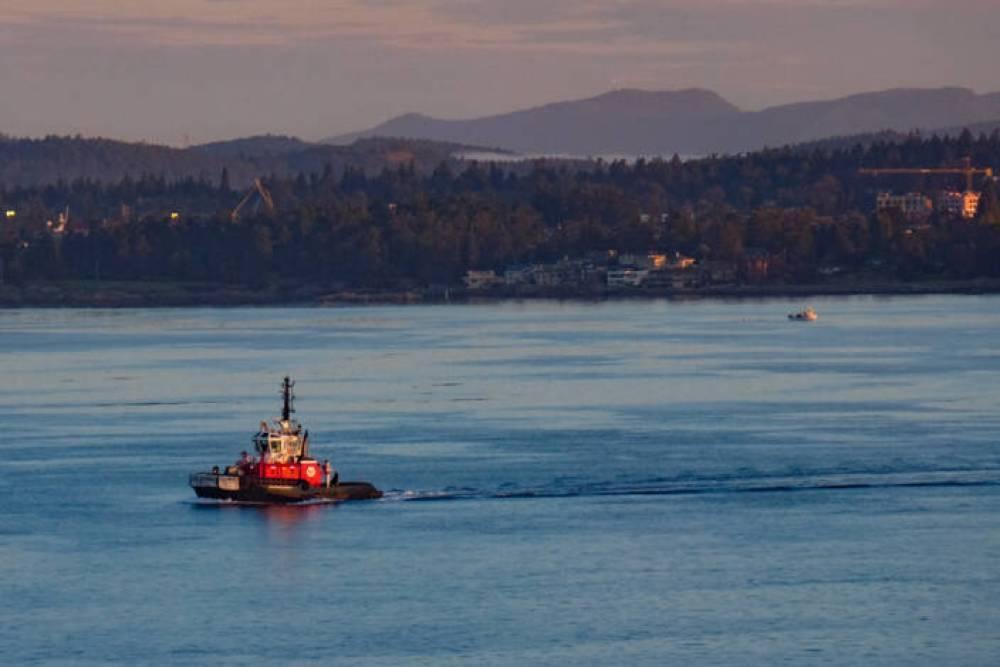 Victoria, B.C. tug boat. Jim Byers photo