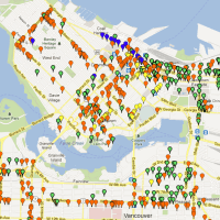 Data Nerd: Mapping Vancouver's Bike Racks