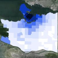 Data Nerd - Mapping Cycling Mode Share in Vancouver