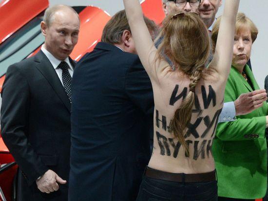 """Pela cara do Putin, parece que ele ficou bastante """"irritado""""..."""