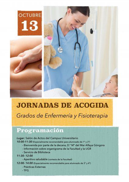 Jornadas de acogida de los grados de enfermería y fisioterapia