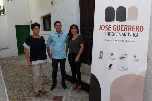 Residencia artística José Guerrero inicia su andadura