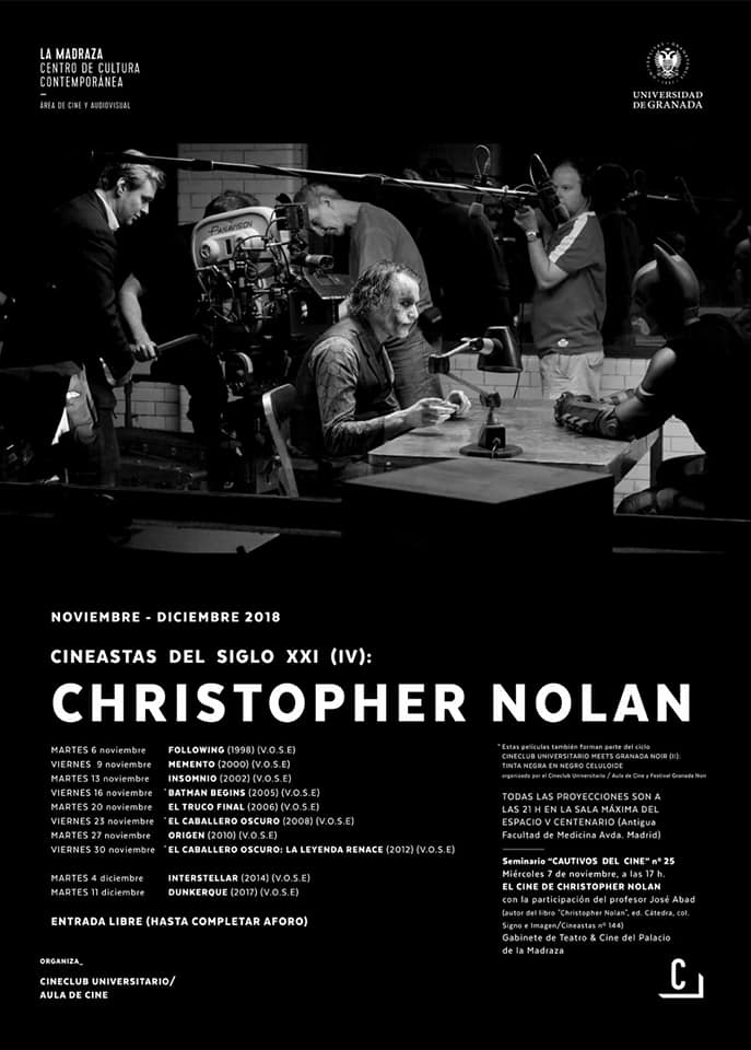 Cartel ciclo christopher nolan