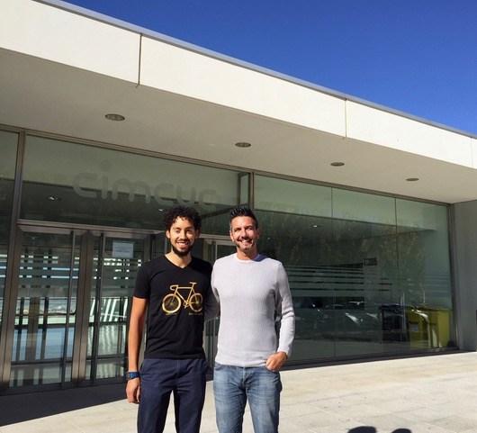 investigadores de la UGR Darias Holgado y Thomas Zandonai
