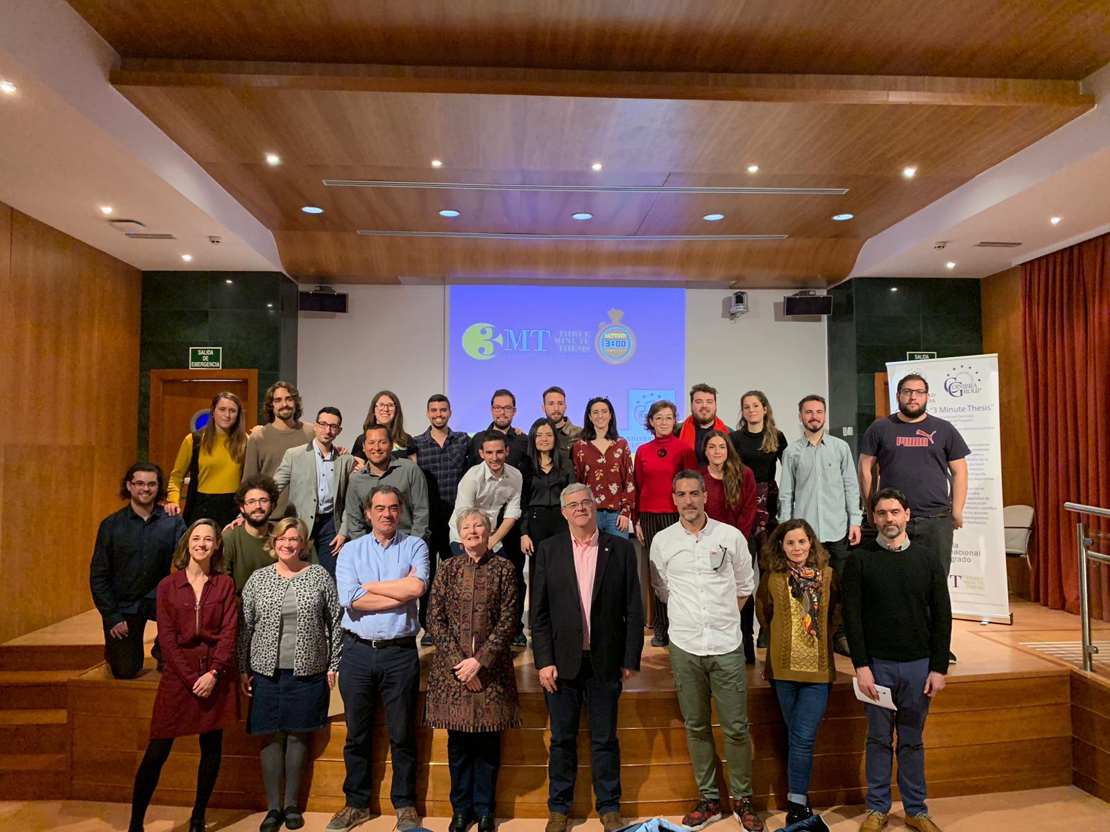 La Universidad de Granada acoge la final del concurso 3 Minute Thesis