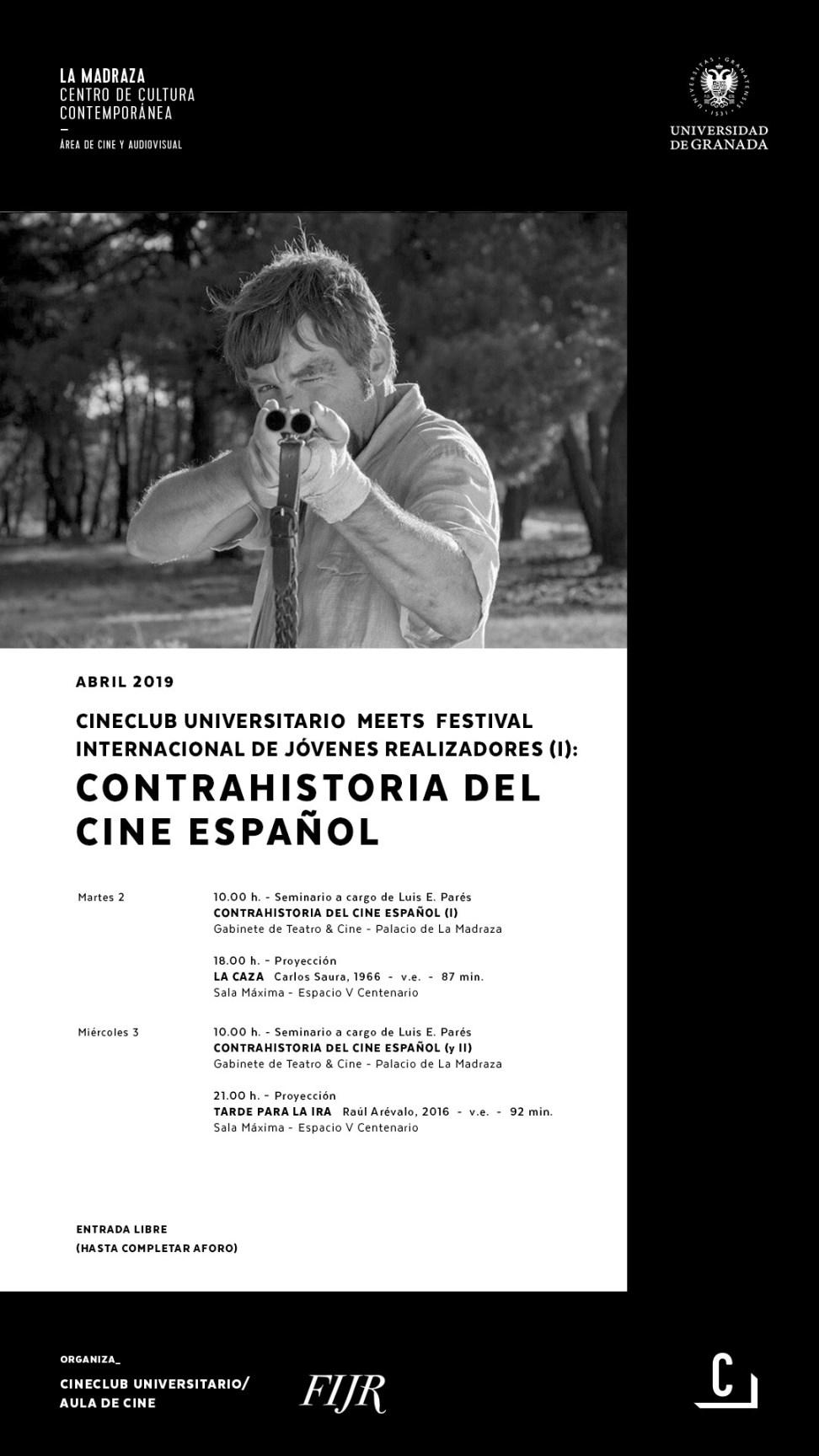 Seminario Contrahistoria del cine español