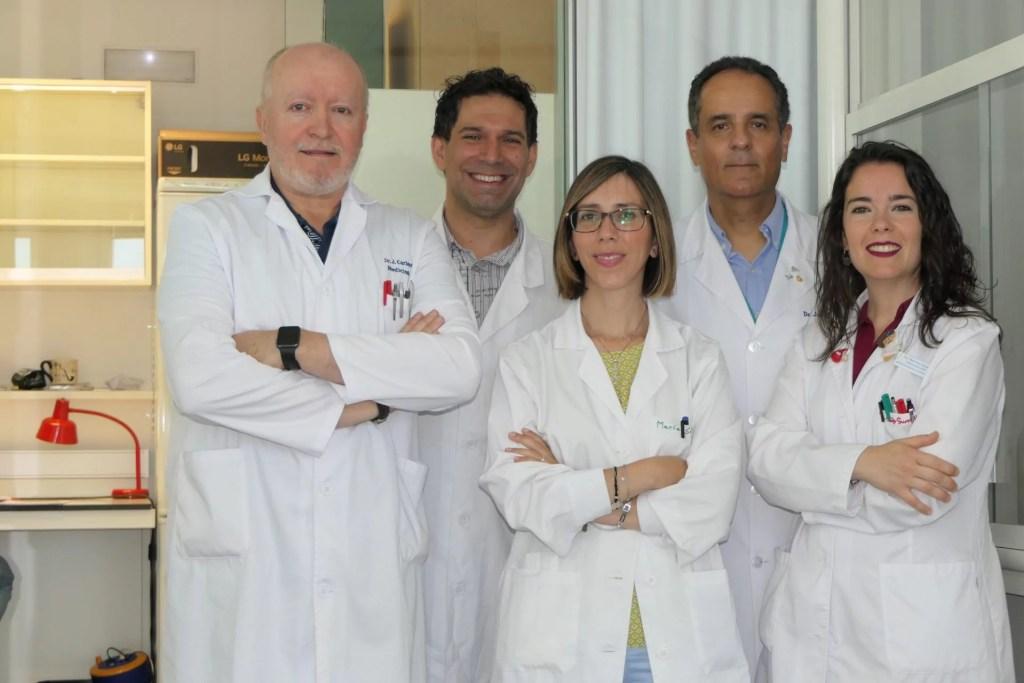 Juan Carlos Álvarez Merino, Luis Javier Martínez González, María Jesús Álvarez Cubero, José Antonio Lorente Acosta y María Saiz Guinaldo