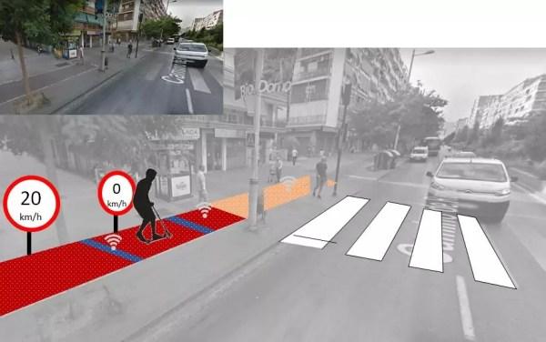 Diseñan asfaltos inteligentes con materiales magnéticos que aumentan la seguridad de los patinetes eléctricos