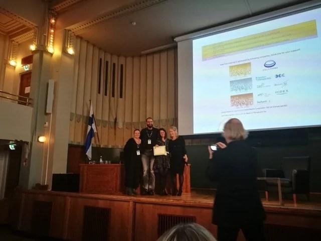Premio internacional para la estudiante de doctorado de la UGR María Pedrosa Rivera