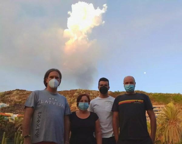 científicos UGR en La Palma