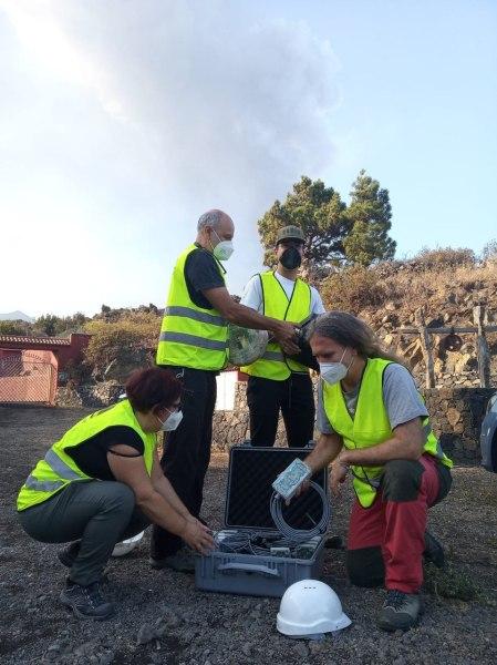 investigadores UGR en La Palma
