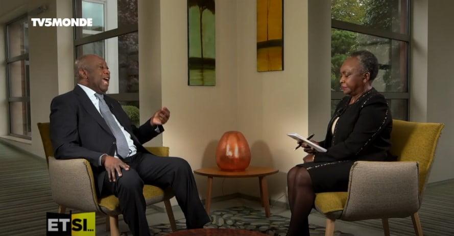 photo de Laurent Gbagbo Interview exclusive.