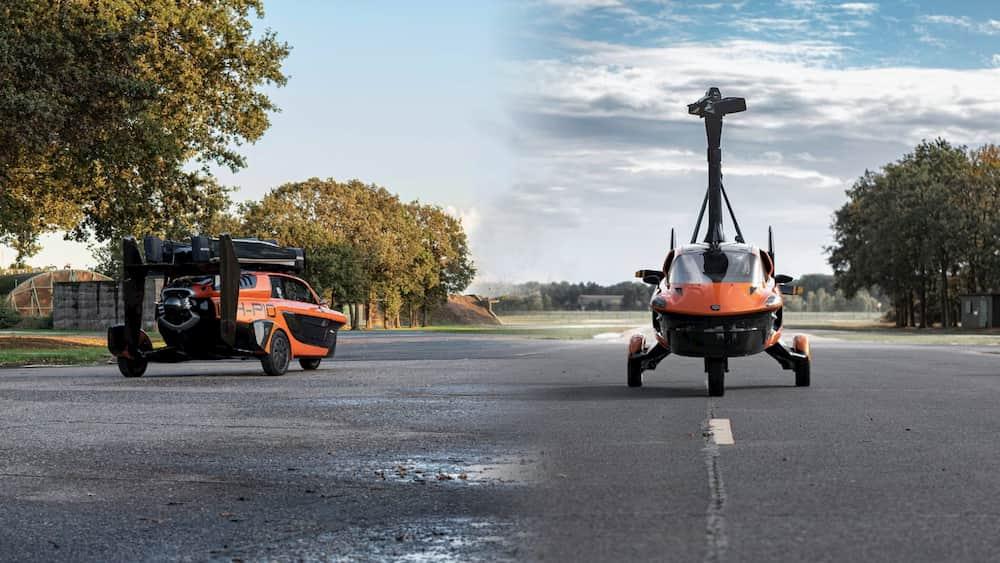 La première voiture volante de Pal-V.