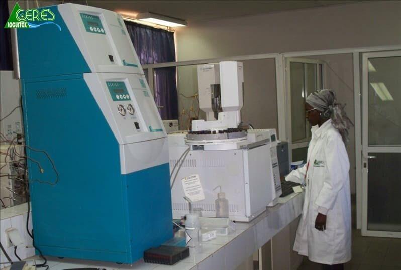 Image d'illustration laboratoire du Ceres-Locustox, Dakar, Sénégal.