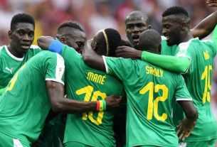lions du Sénégal