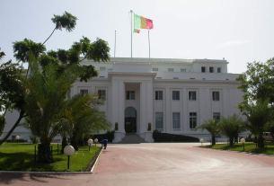Image Palais de la république sénégalaise.