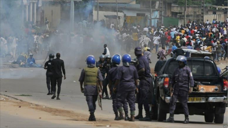 Ucad affrontement etudiants contre policiers