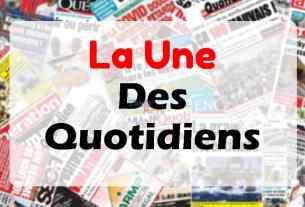 La Une du quotidien sénégalais du mardi 2 mars 2021.