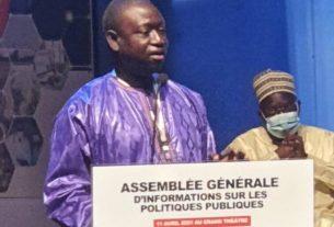 Conférence de Mamadou Diagne Sy Mbengue.