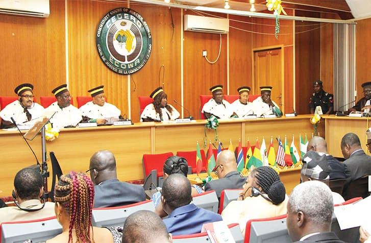 La Cour de Justice de la CEDEAO ordonne à l'Etat de supprimer la loi sur le parrainage.
