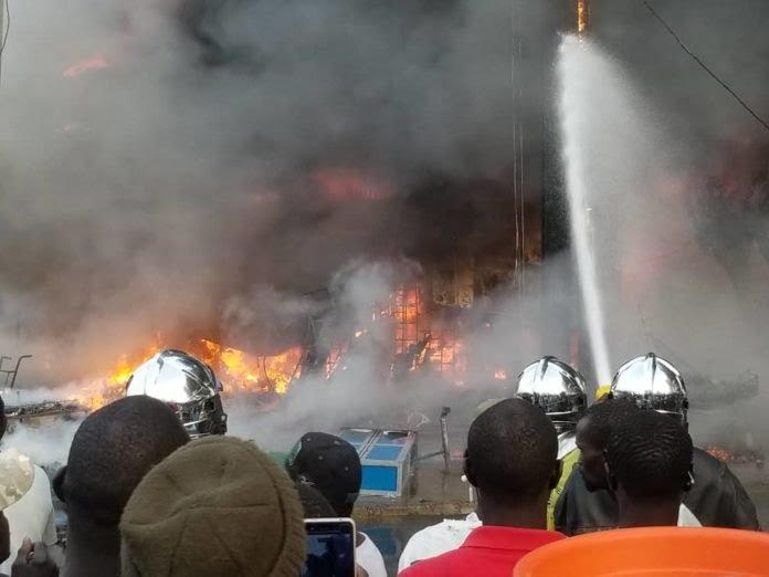 incendie usine Podor
