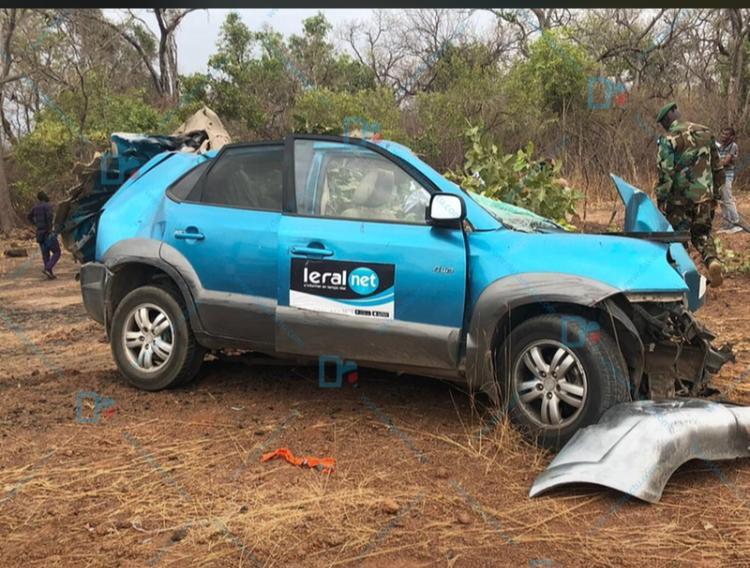 Décès par accident de 3 journalistes de Leral TV