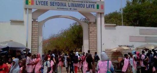 portail du Lycee Limamou Laye