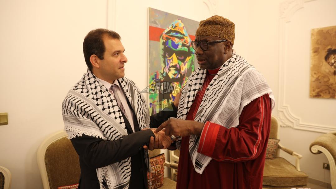 rencontre entre une délégation du Khalif Général des Tidianes et Safwat Ibraghith