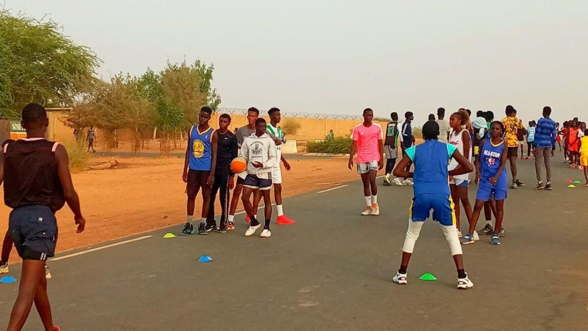 le club de Basketball de la ville de Richard Toll